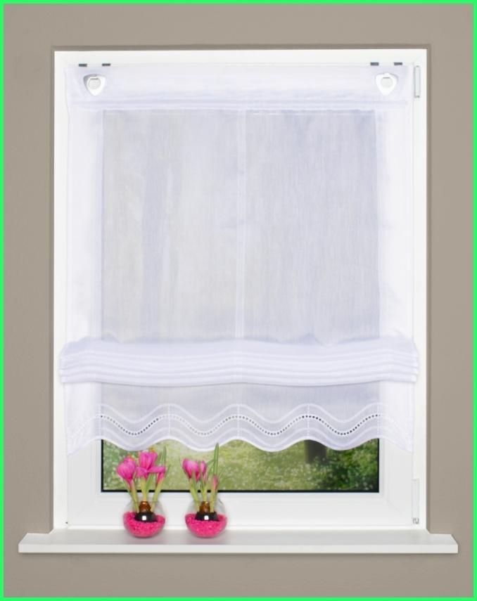 sen raffrollo ruth aus batistgewebe. Black Bedroom Furniture Sets. Home Design Ideas