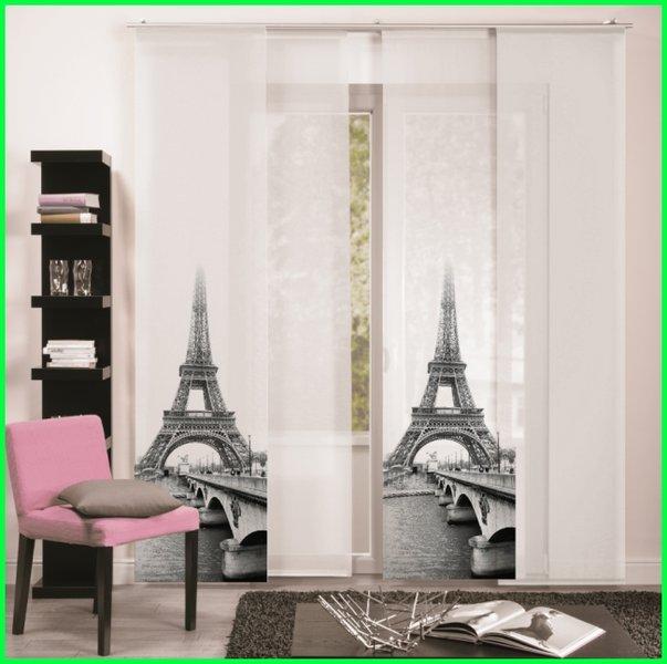 Flächenvorhang Schiebegardine PARIS Digitaldruck