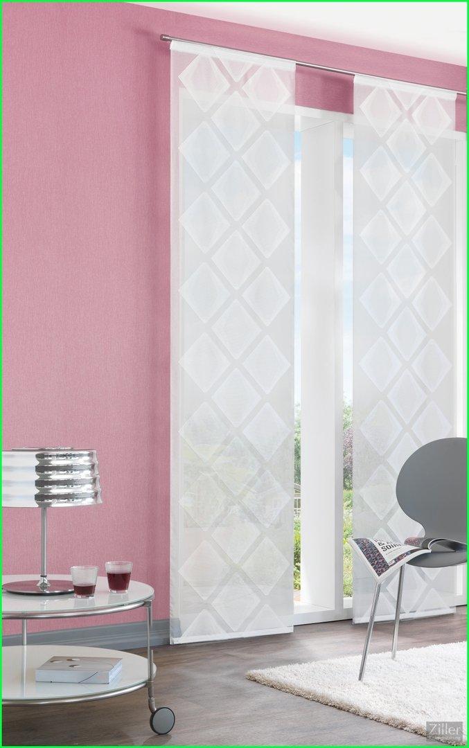 fl chenvorhang schiebegardine kristall halbtransparent. Black Bedroom Furniture Sets. Home Design Ideas